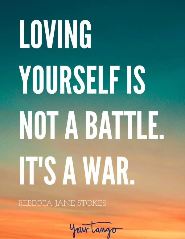 learning to love your body is not a battle, it's a war