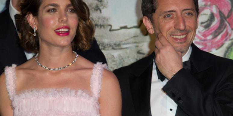 Charlotte Casiraghi and boyfriend Gad Elmaleh