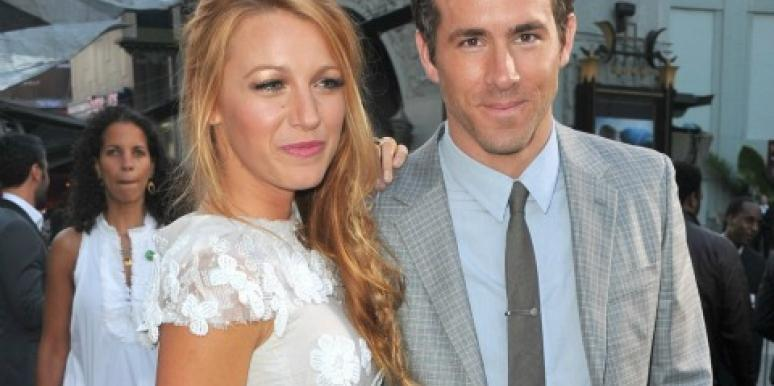 Blake Lively and Ryan Reynolds wedding