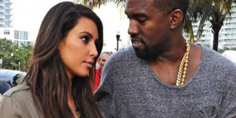 "Kim Kardashian and Kanye West, known as ""Kimye,"" in Miami"