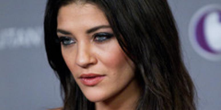 Jessica Szohr on the red carpet.