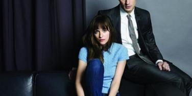 50 Shades Of Grey photo of Jamie Dornan as Christian Grey and Dakota Johnson as Ana Steele