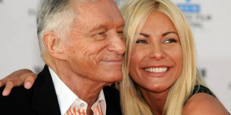 Hugh Hefner and Crystal Harris back together
