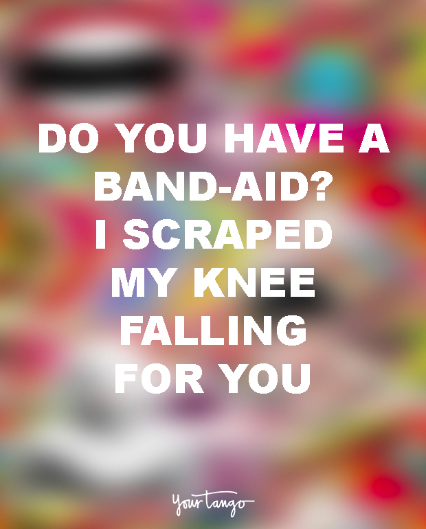 Cheesy pick up lines to make you smile