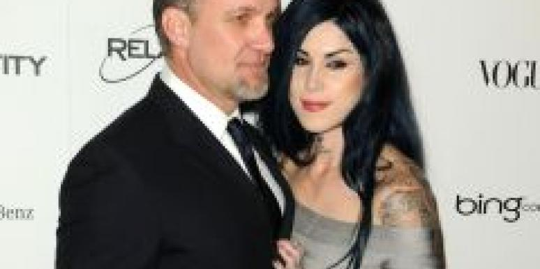 Kat Von D and Jesse James Engaged