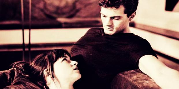 ana and christian grey from 50 Shades of Grey