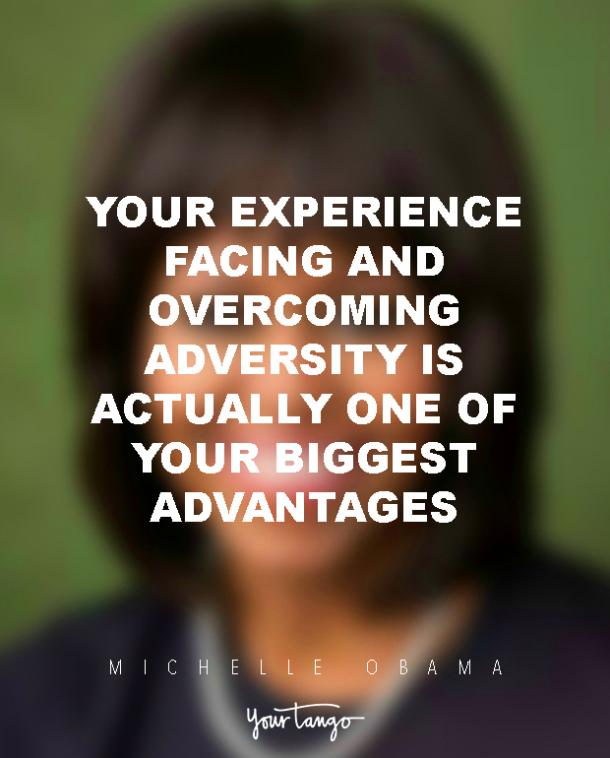 INSPIRING Michelle Obama Quotes On Overcoming Adversity
