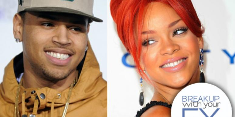 75% Of Readers Think Rihanna Needs To Dump Ex, Chris Brown!