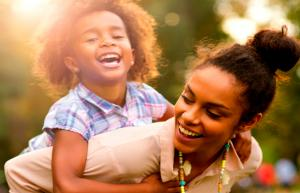 how to raise happy kids as a single parent