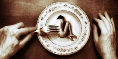 Woman as food