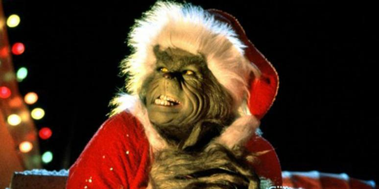 Jim Carrey as the Grinch in How The Grinch Stole Christmas, christmas songs, xmas songs