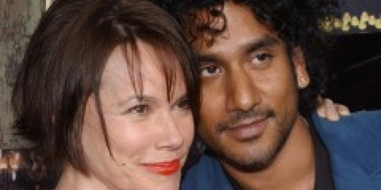 Barbara Hershey and Naveen Andrews split