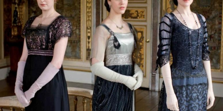edith crawley, sybil branson and mary crawley