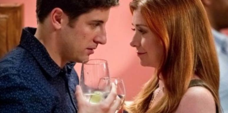 "Jason Biggs and Alyson Hannigan in ""American Reunion"""