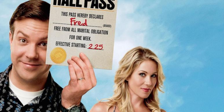 Jason Sudeikis and Christina Applegate from Hall Pass