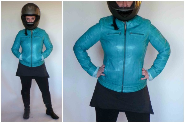 Accessories: Leather Jacket, Boots And Helmet