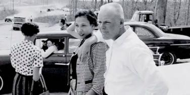 mildred jeter richard loving couple