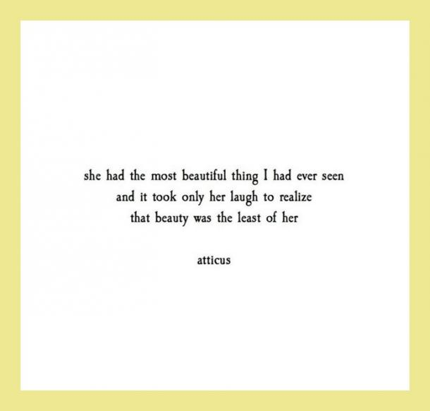 16 Life & Love Quotes From Mysterious Internet Poet Atticus ...