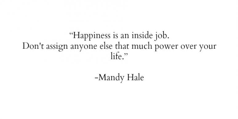 Mandy Hale inspirational happiness quotes