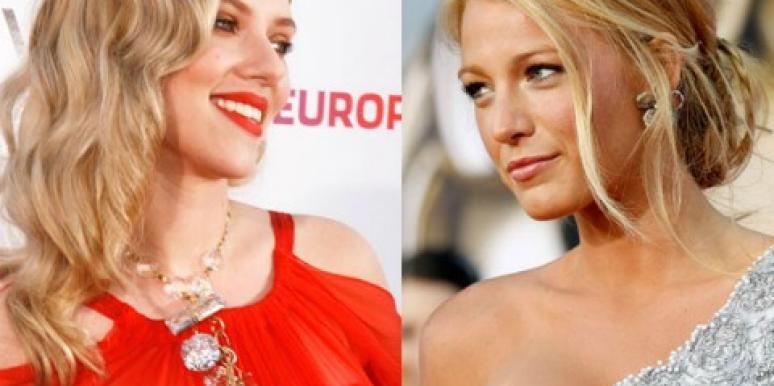 "A-List Links: Scarlett Johansson Is ""Pissed"" At Blake Lively"