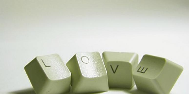 love computer keyboard keys