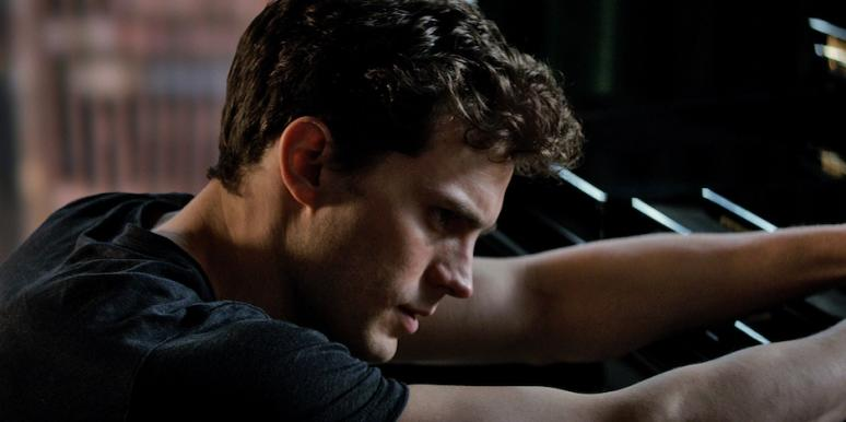 Jamie Dornan as Christian Grey in 50 Shades of Grey