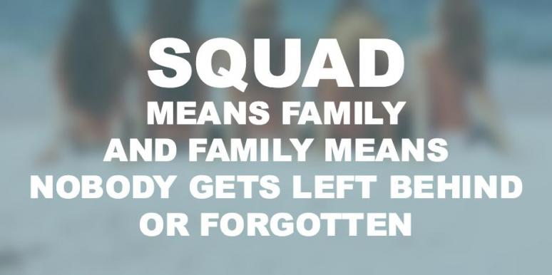 Squad Goals Friendship Quotes