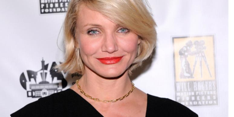Cameron Diaz short hair
