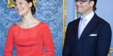 Swedish Crown Princess Victoria and Daniel Westling