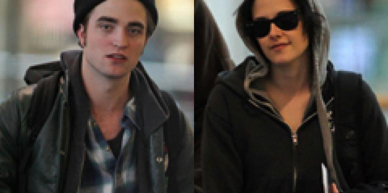 Robert Pattinson & Kristen Stewart Are Cuddle Buddies