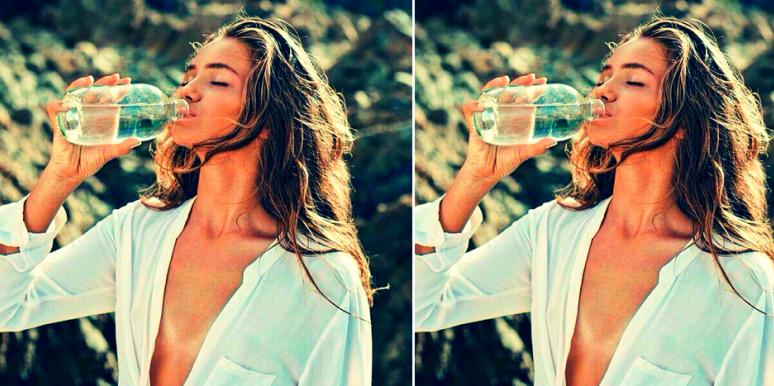 How Your Face Changes After 30 Days Of Drinking Water
