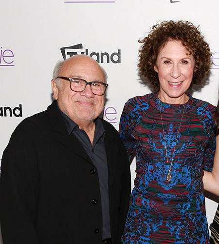 Rhea Perlman and Danny DeVito - <i>Robin Marchant/Getty Images</i>