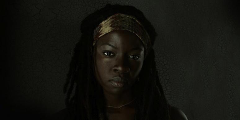 Danai Gurira as Michonne from The Walking Dead