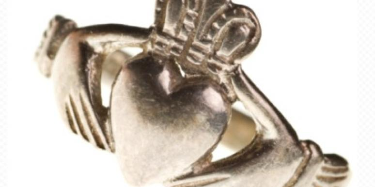 Traditional Irish Claddagh ring St. Patrick's Day