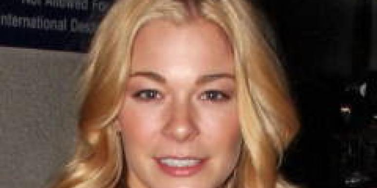 Leann rimes dated tiger woods
