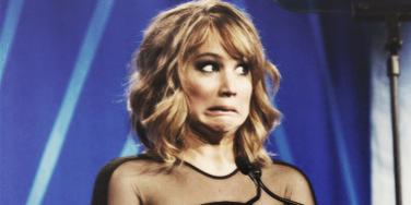 Jennifer Lawrence funny face