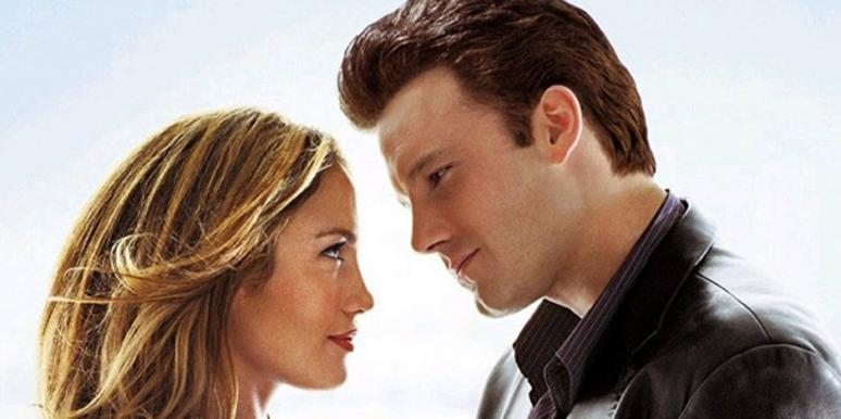 "Jennifer Lopez and Ben Affleck (""Bennifer"") in ""Gigli"""