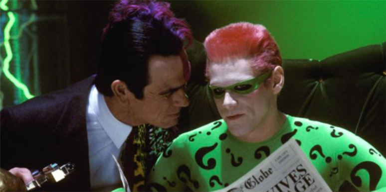 Celebrity Feuds, Batman Forever, Jim Carrey