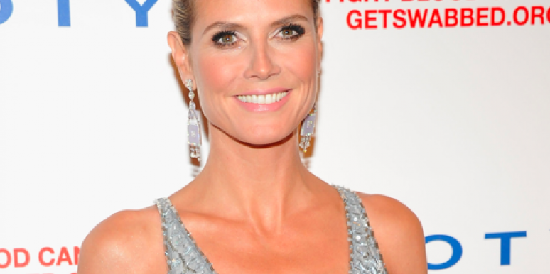 Celebrity Sex: Heidi Klum Goes Nude. Again.