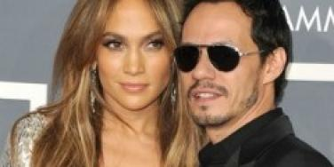 J. Lo and Marc Anthony