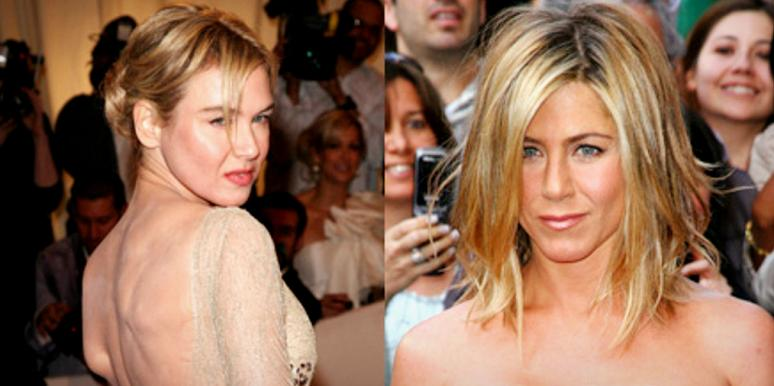 Renee Zellweger and Jennifer Anniston