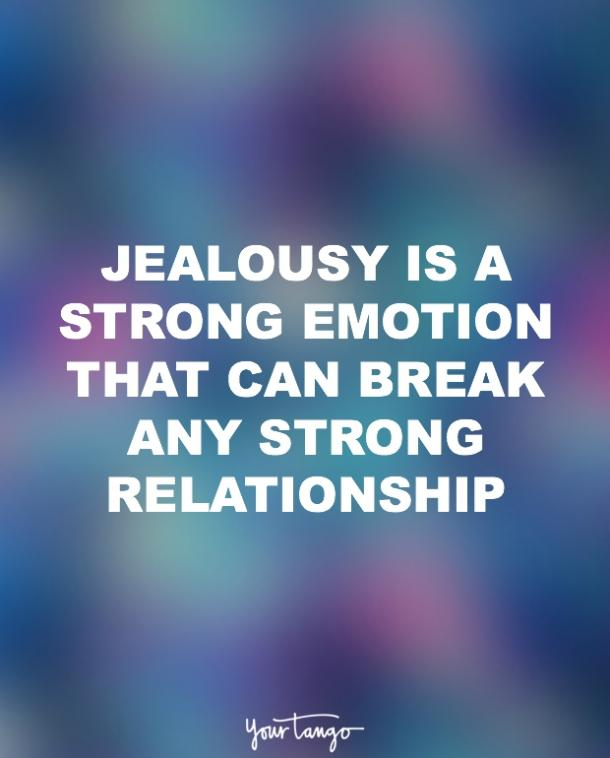 a little jealousy in relationship is good