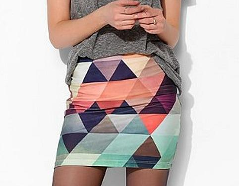 BamBam Geo Bodycon Skirt