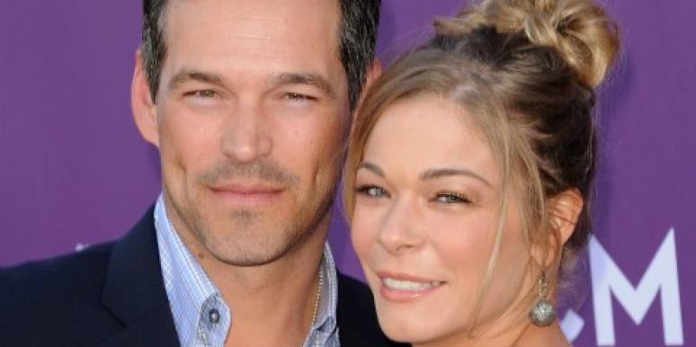 Eddie Cibrian and LeAnn Rimes at ACM Awards