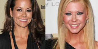 Brooke Burke and Tara Reid