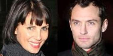 Sadie Frost and Jude Law