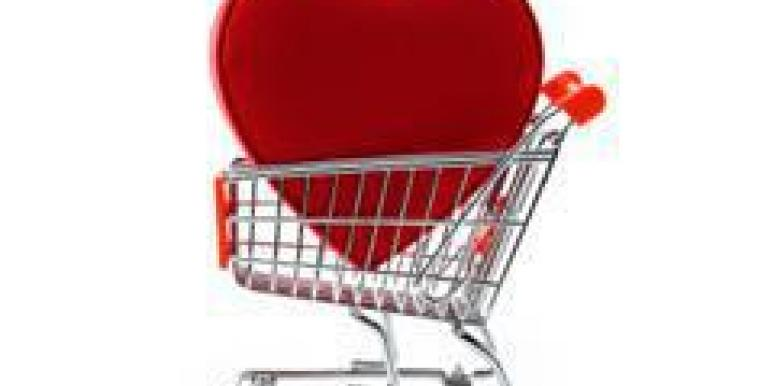Heart in Shopping Cart