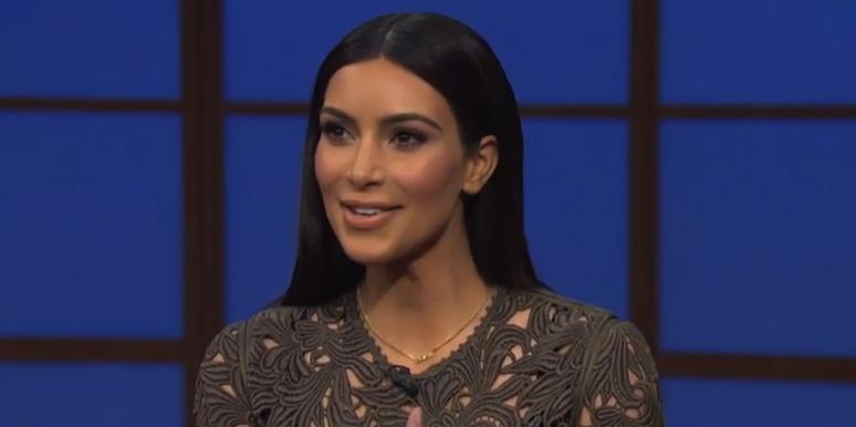 Kim Kardashian from Late Night With Seth Meyers