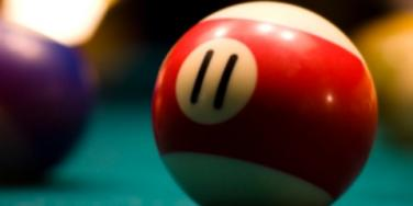 billiard pool ball 11 eleven