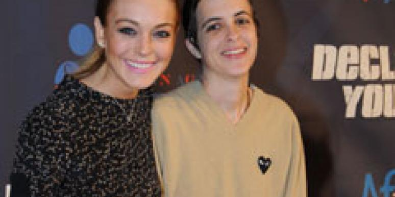 Lindsay Lohan and Samanthan Ronson